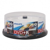 Диск DVD+R Philips DR4S6B25F/97