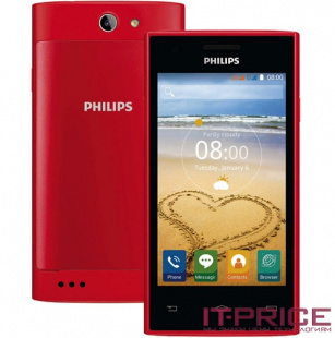 Смартфон Philips S309 (8712581735333) Red