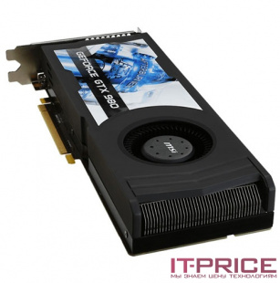 Видеокарта MSI PCI-E GTX 980 4GD5 OCV1