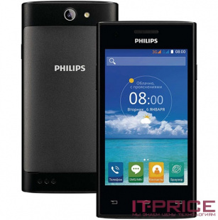 Смартфон Philips S309 (8712581735326) Black
