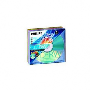 Диск CD-RW Philips CDRW80D12/251