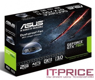 Видеокарта Asus PCI-E GTX750TI-PH-2GD5