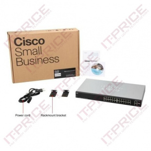 Коммутатор Cisco 200 (SLM2024PT-EU)